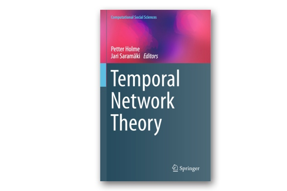 Temporal Network Theory book cover